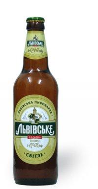 Пиво Светлое ТМ Львівське