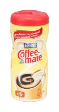 Сухие сливки ТМ Coffee-mate