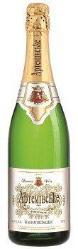 Шампанское Украины Белое Полусухое выдержаное ТМ Артемівське