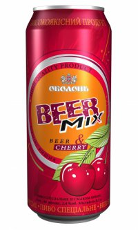 Пиво Бирмикс ТМ Оболонь