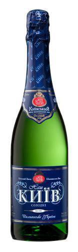 Шампанское Украины Белое Сладкое ТМ КЗШВ