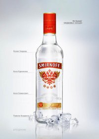 Водка Smirnoff
