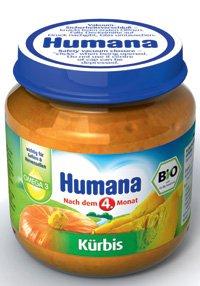 Овощное пюре Для детей ТМ Humana