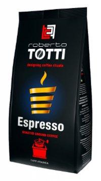 Кофе молотый ТМ Roberto Totti