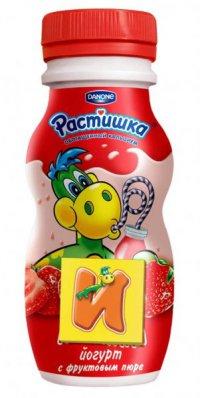Йогурт питьевой Для детей ТМ Растишка