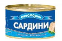 Рыбные консервы Сардинела ТМ Аквамарин