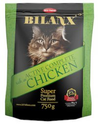 Корм для кошек Bilanx Active Complete rich in Chicken