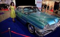 Выставка ретро-автомобилей в Киеве