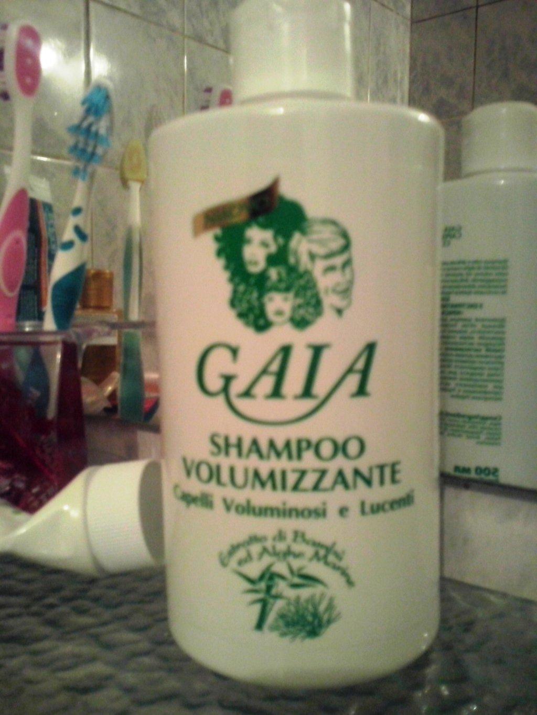 Косметика GAIA - Новинка от Gaia для объема волос
