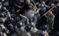 Столкновения под Радой в Киеве