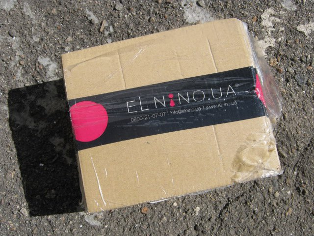 Интернет-магазин elnino.ua - Первый заказ, и море радости!