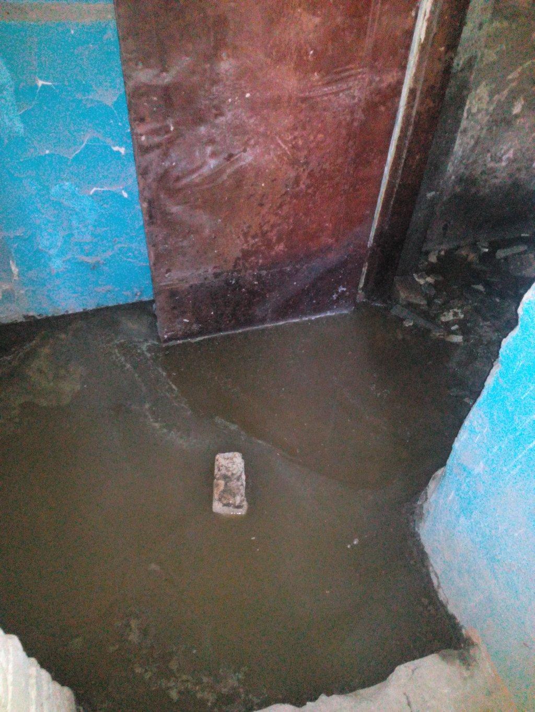 Абзац на Новом канале - проблема с канализацией