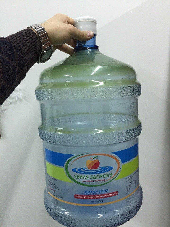 Питьевая вода Хвиля Здоров'я - Испортились!!! Бутыль позеленел =(