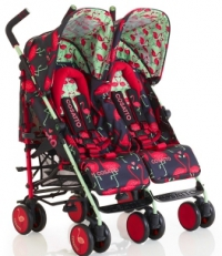 Детская коляска-трость для двойни Cosatto Supa Dupa (Косатто)