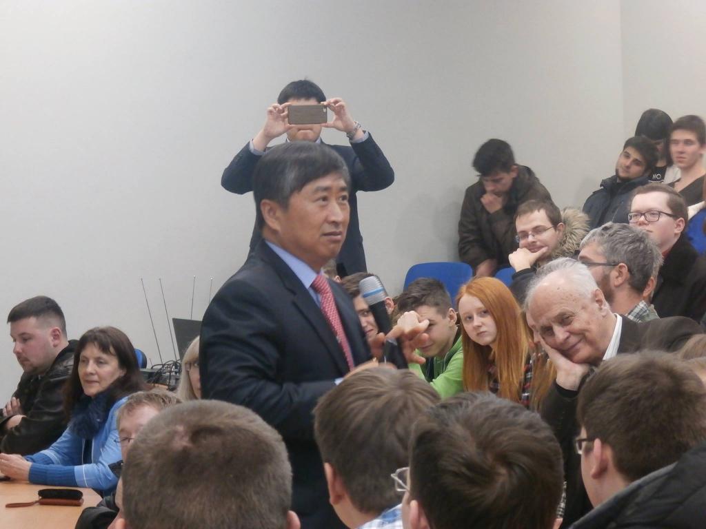 Открытый международный университет развития человека «Украина» - Динамічна лекція  Професор Лі Мьон Гу