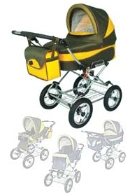Детская коляска Carbo-Car EMILI