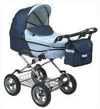 Детская прогулочная коляска Carbo-Car NICOLAS