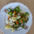 Отзыв о Замороженные овощи ТМ Хуторок (Рудь): Овощная смесь Хуторок Весняна: идеальное постное меню