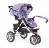 Детская трехколесная прогулочная коляска Capella S 901 Play