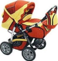 Детская коляска Akjax Novus Lux