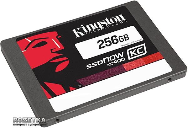 "Розетка - интернет-магазин (rozetka.ua) - SSD Kingston SSDNow KC400 256GB 2.5"" SATAIII MLC (SKC400S37/256G)"