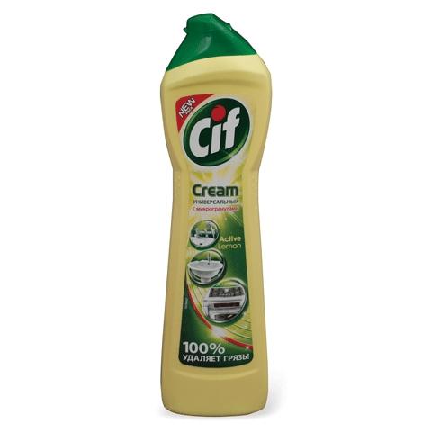 Чистящее средство Крем ТМ Cif - Идеально для ванной комнаты