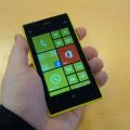 Отзыв о Nokia Lumia 520: Удивлен