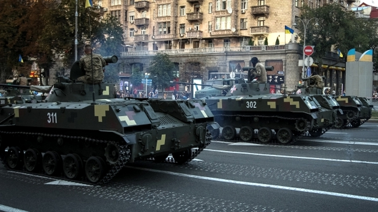 Парад на День Независимости 2016 в Киеве - Военный Парад на День Независимости