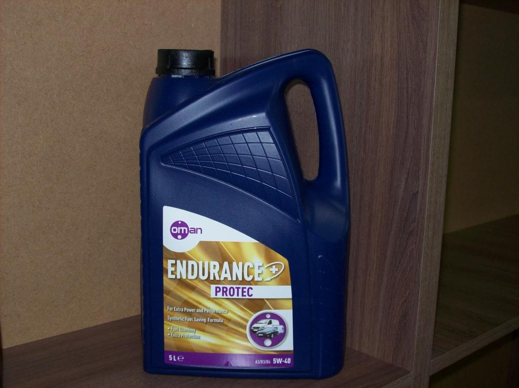 Моторное масло OMAN - Моторное масло OMAN Endurance Protec 5W-40 SN/CF