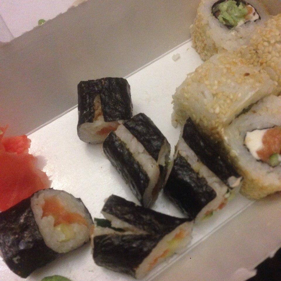 Сушия - О качестве доставленных блюд