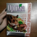 Отзыв о Корм для мелких грызунов Optima: Покупаем корм Оптима для белки Дегу