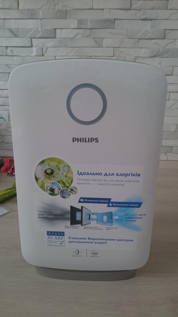 Philips Климатический комплекс 2 в 1 AC4080/10 - Спасибо Philips за чистый воздух