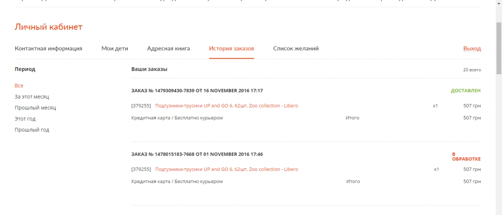 Интернет-магазин panama.ua -