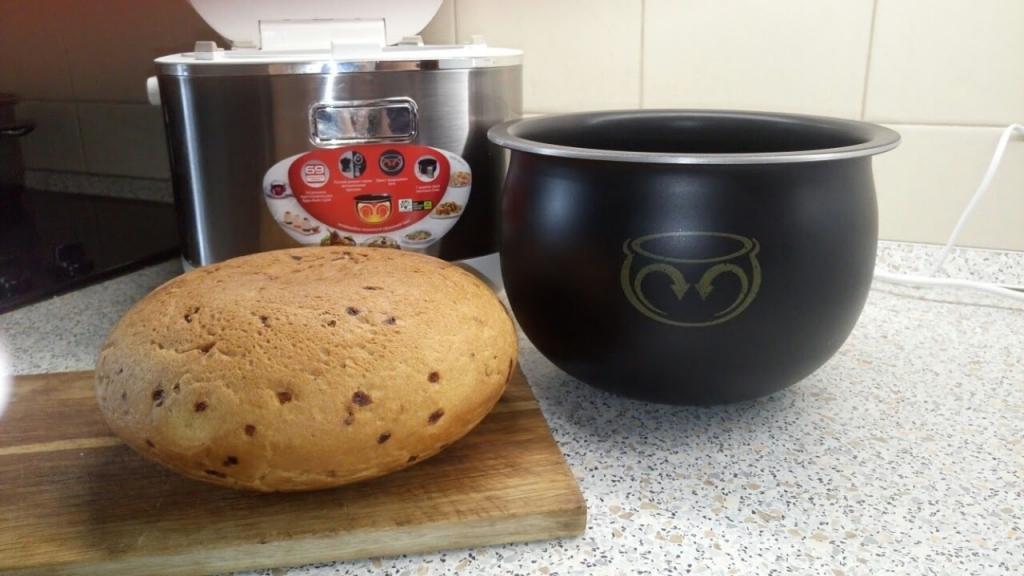 Хлеб приготовленный в мультиварке
