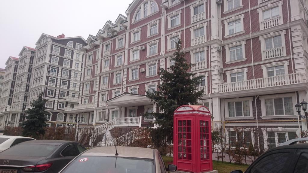 ЖК Новая Англия - Впечатляет! Фото для сравнения с Лондоном