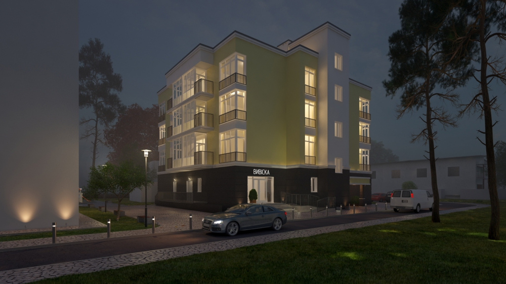 Клубный дом Покрова - г.Ирпень, ул.Покровська 9