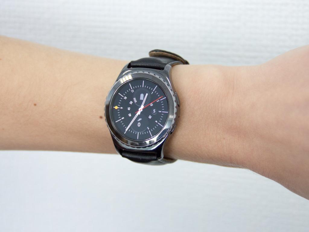 Samsung  Gear S2 Classic Black - Сарт часы Samsung SM-R732 Gear S2 Classic