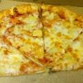 Отзыв о Пиццерия Доминос (Domino's): Найди 11 отличий (или угадай, где мясо, и ананасы !)