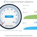 Отзыв о Мобильный интернет Интертелеком: Измерял на разных ресурсах