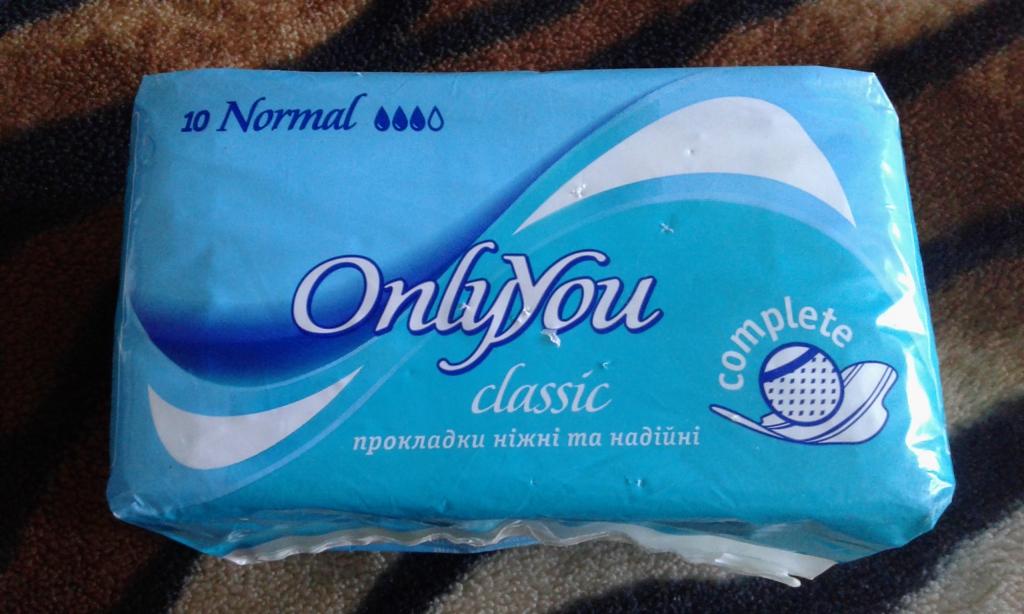 Прокладки OnlyYou Normal Classic Complete