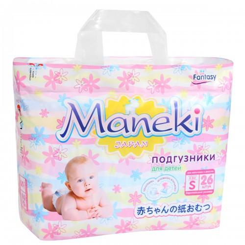 подгузники Maneki