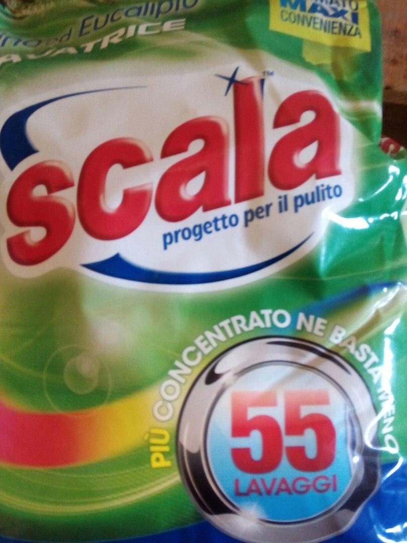Стиральный порошок с Италии SCALA LAVATRICE EUCALIPTO. -