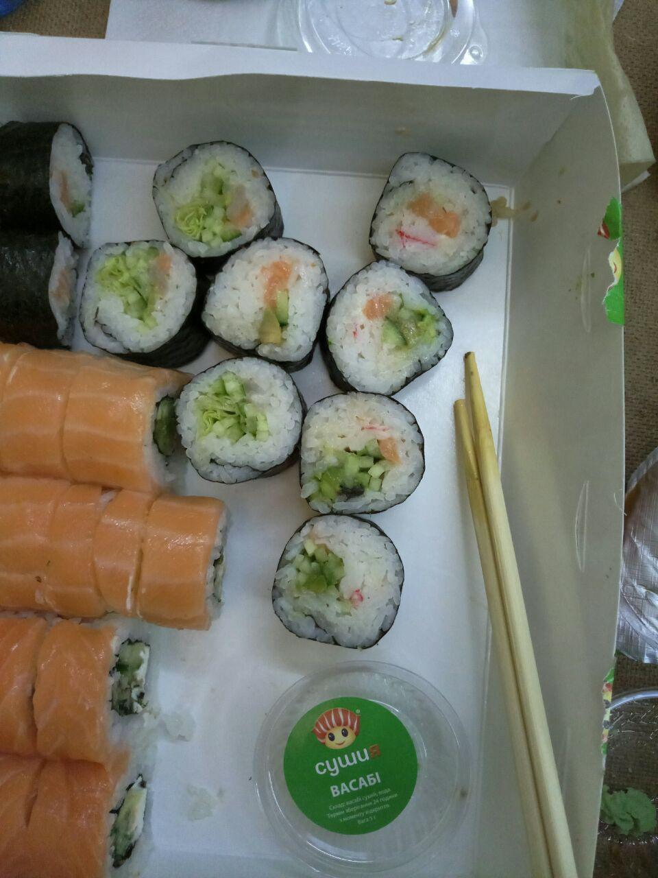 Сушия - Если хотите только риса - то норм, если суши - то получите только рис