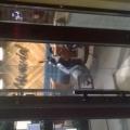 Отзыв о Мамамия Пицца: Мопед в обеденном зале на Ефремова 8-а