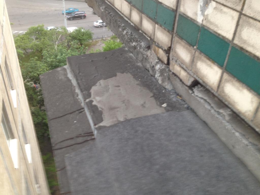 Компания «4 этаж», Киев - Балкон с выносом