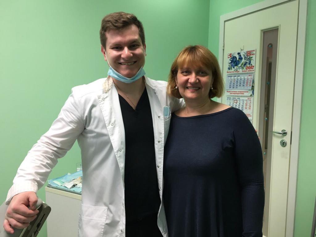 Стоматология Олимп-С - Большая благодарность МАСТЕРУ