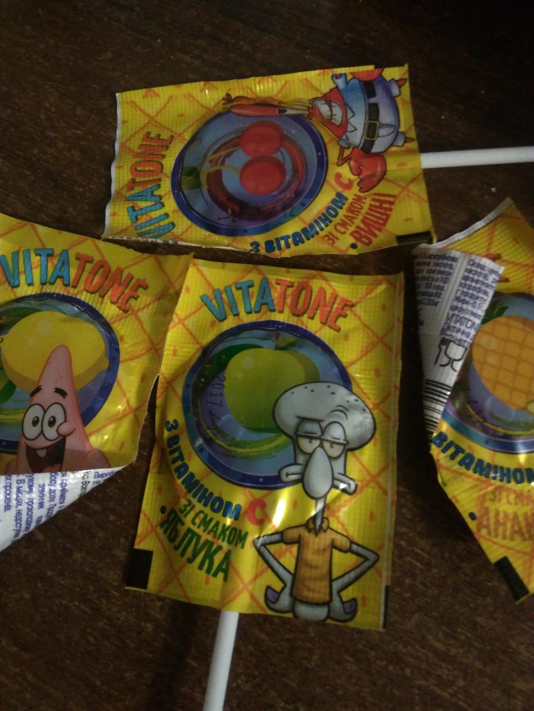 VitaTone леденцы c витаминами - Корисні цукерки!