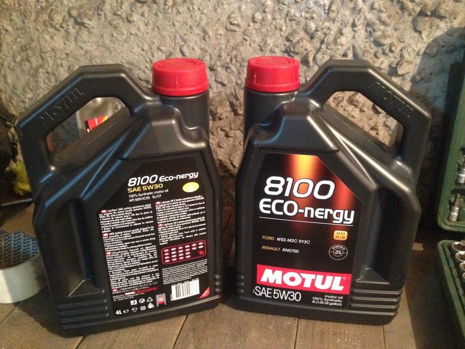 Моторное масло Motul - Motul Eco-nergy 5W30