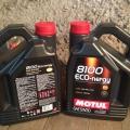 Отзыв о Моторное масло Motul: Motul Eco-nergy 5W30