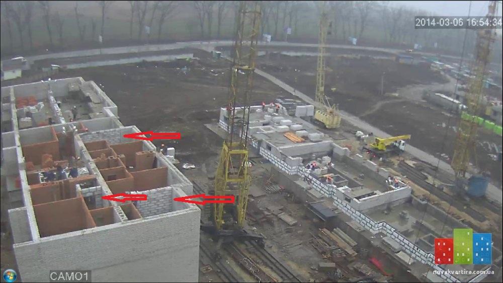 Вишневое, ул. Пионерская (9,14,18,20) - Фото реального качества строительства: газобетон, КНС